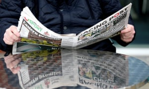 The Racing Post newspaper was suspended this week in the wake of the coronavirus crisis.