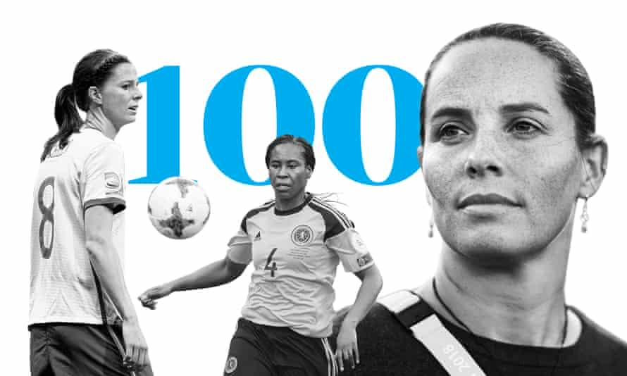 Lotta Schelin, JIfeoma Dieke and Rhian Wilkinson were all part of our voting panel for the best 100 female footballers in the world in 2020.