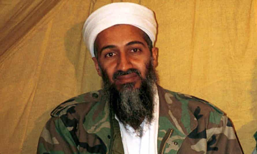 Osama bin Laden's described visiting Shakespeare's home but said he was 'not impressed' by British society and culture.