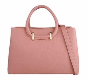 pale pink handbag £20, Dorothy Perkins