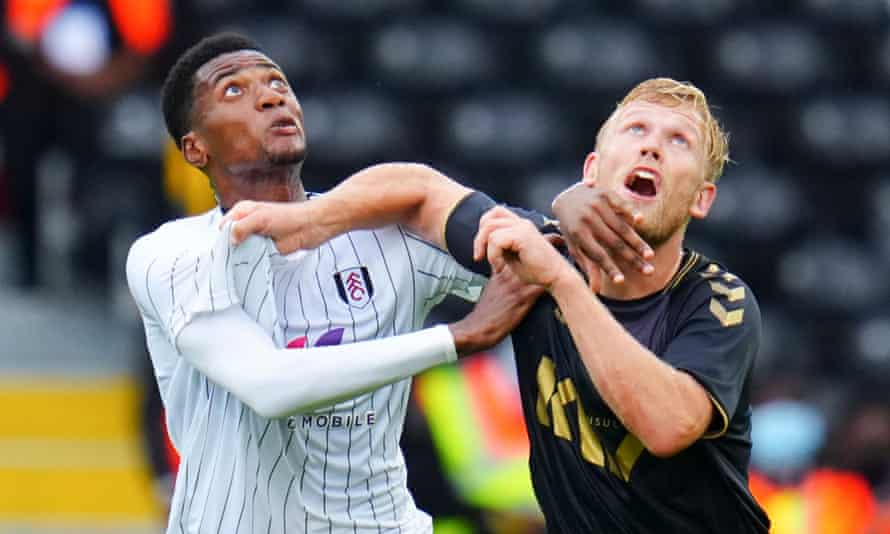 Charlton's permanent signing of Jayden Stockley (right), in action against Fulham, should guarantee them goals.