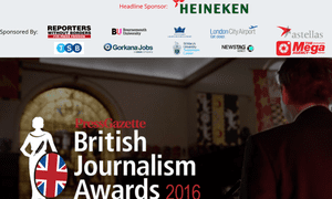 Press Gazette's website for the awards.