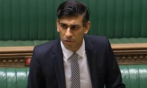 Rishi Sunak speaking in the Commons on Monday
