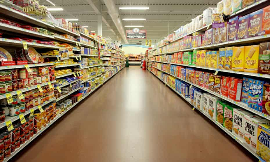 A supermarket in Iowa.
