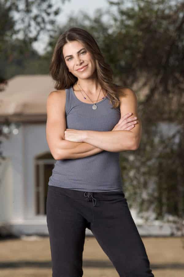 Trainer Jillian Michaels from The Biggest Loser, season five