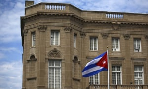 The new Cuban embassy in Washington will have fewer occupants.