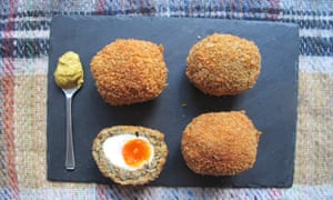 felicity cloakes perfect vegetarian scotch eggs