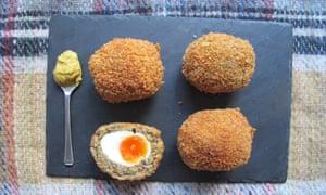 Felicity Cloake's perfect vegetarian scotch eggs.
