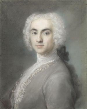 Rosalba Carriera, Portrait of a Man, 1720s