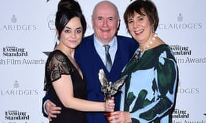 Hayley Squires, Dave Johns and Rebecca O'Brien