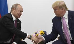 Vladimir Putin and Donald Trump