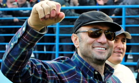 Suleiman Kerimov: the Kremlin said it would 'do everything in our power' to protect him.