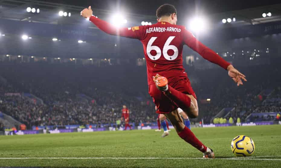 Trent Alexander-Arnold can take good set pieces as well as supply excellent crosses to his forwards at Liverpool.