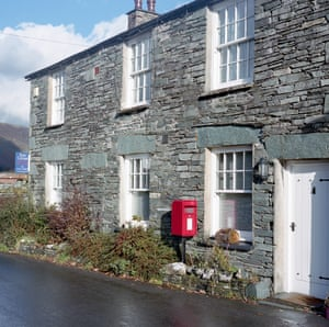Photographs of postboxes in rural Lake District by photographer Tom White.