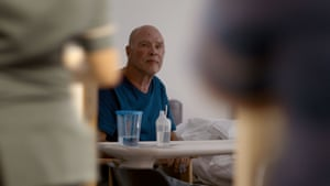 Geoff, one of the patients in the series, after surgery.