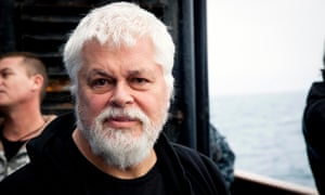 Captain Paul Watson of anti-whaling activist group Sea Shepherd. A still from the film Defend, Conserve, Protect.