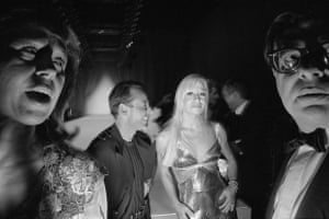 Donatella Versace at the Fashion Group International Gala in New York, 1994