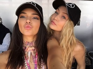 Kendall Jenner and Gigi Hadid: quite excited about Victoria's Secret