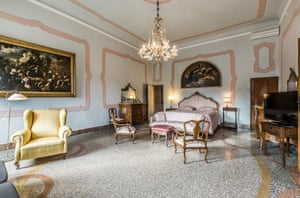 One of the six bedrooms. The property is on the market for just under £8m (€8.9m). But even at that whopping price, the agents say the apartment could benefit from some updating.Venice Sotheby's Realty, +39 041 522 0093