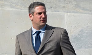 Ohio representative Tim Ryan (on Capitol Hill in 2017, in this file pic).
