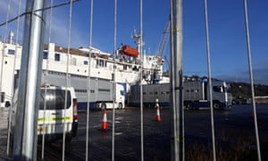 A shipment going to Libya from Cork aboard Atlantic M on 4 December 2019.