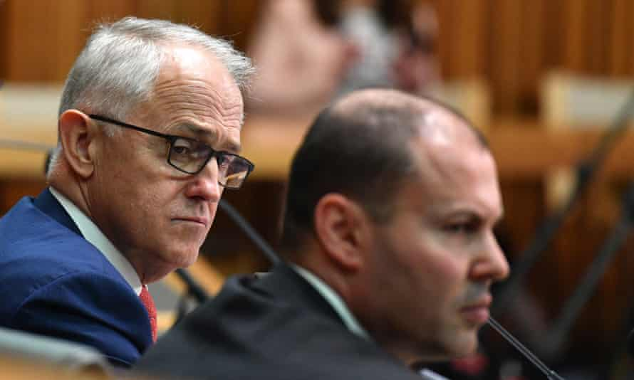 Prime minister Malcolm Turnbull (left) and federal environment and energy minister Josh Frydenberg.
