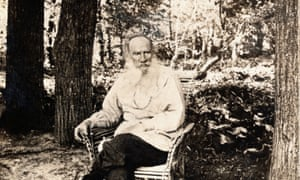 Tolstoy in the grounds of his estate, Yasnaya Polyana