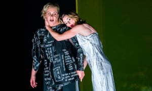 Radiant, desperate and touching … Alice Coote (Orpheus) and Sarah Tynan (Eurydice) in Orpheus and Eurydice.
