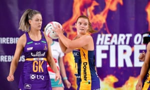 Sunshine Coast Lightning shooter Steph Wood
