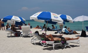 Miami Beach in Florida last week.