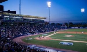Richmond County Bank Ballpark, home of the Staten Island Yankees.