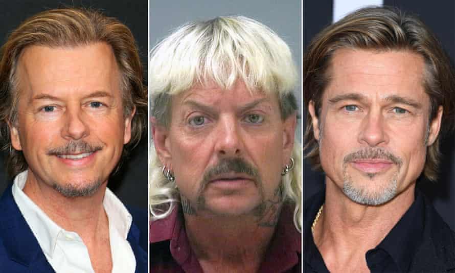 Animal magnetism … David Spade, Joe Exotic and Brad Pitt.
