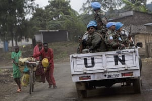 United Nations peacekeepers.