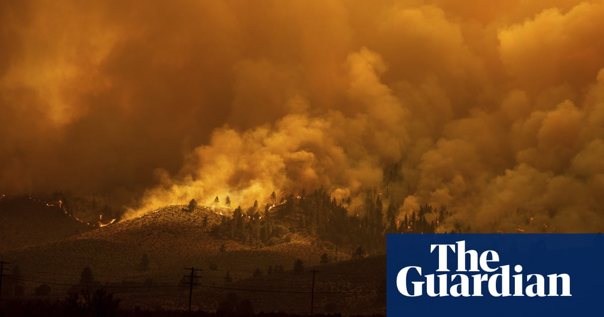 Fierce wildfires in US north-west threaten Native American tribal lands