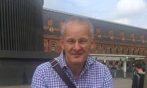 Commuter Dennis Palmer