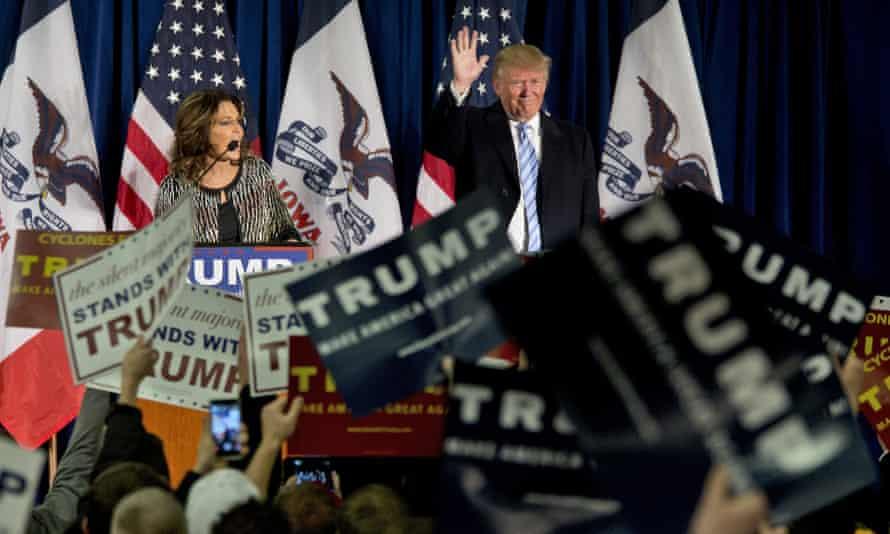 Sarah Palin and Donald Trump – a meeting of the minds.