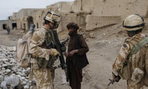 British troops were deployed to Sangin, Helmand province in Afghanistan to help fight Taliban in 2009.