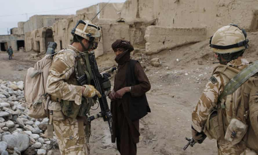 British troops in Helmand, Afghanistan, 2009