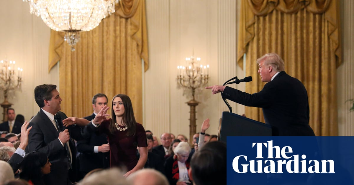 CNN sues White House and demands return of Jim Acosta's press credentials