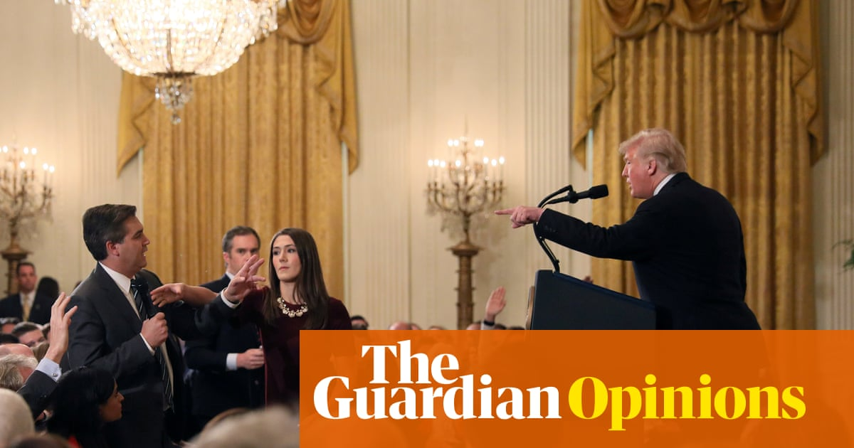 The US press corps has to learn to stand up to Trump | Suzanne Moore