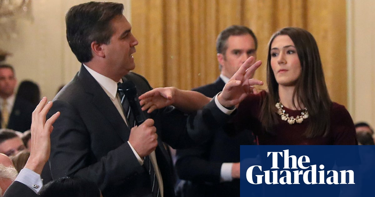 'She touched him': Acosta row engulfs social media