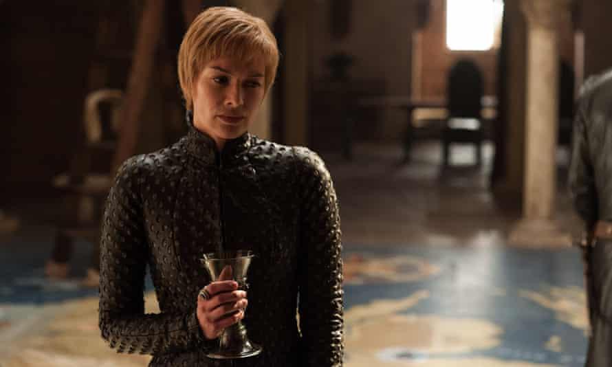 Throne muse: Lena Headey as Cersei Lannister.