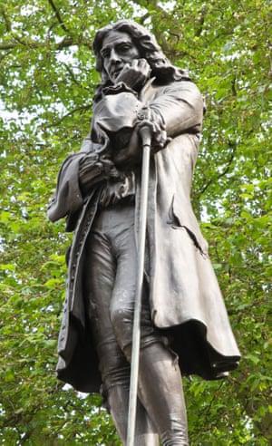 Statue of Colston in Bristol.