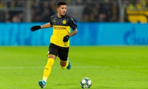 Jadon Sancho was dropped and fined by Dortmund last month