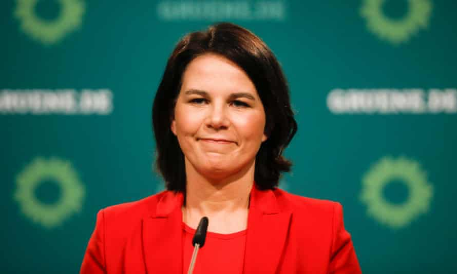 Annalena Baerbock is the Green party candidate to replace Angela Merkel as German chancellor.