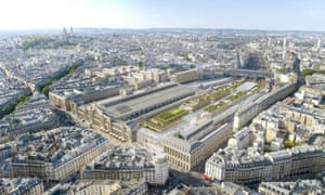 State rail firm SNCF has joined with private developers to transform the Gare du Nord into a shopping and office complex along the lines of an airport.