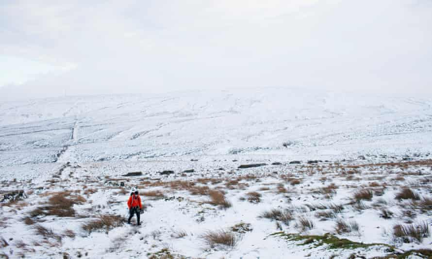 The Spine ... Edale in Derbyshire to Kirk Yetholm, Scotland. In January.
