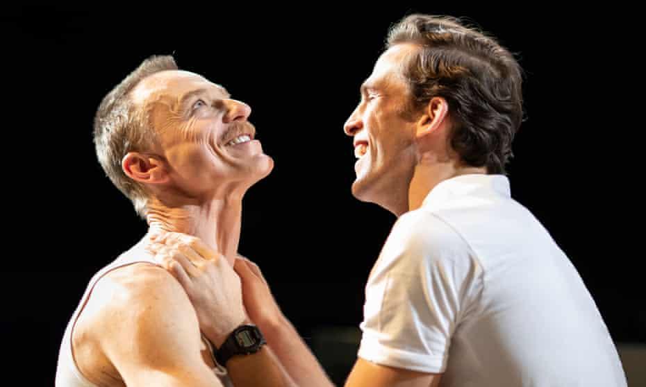 Ben Daniels and Dino Fetscher in The Normal Heart