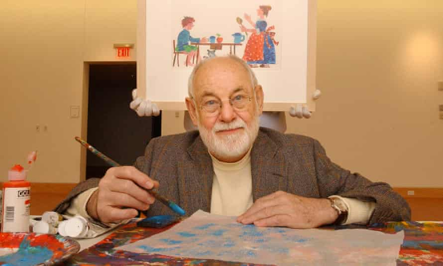 'Stories of hope' … Carle in the Eric Carle Museum, Amherst, Massachusetts.
