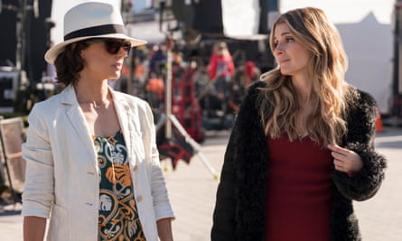 Constance Zimmer and Shiri Appleby in UnREAL, season 4.